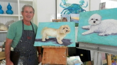 george-bush-dog-paintings