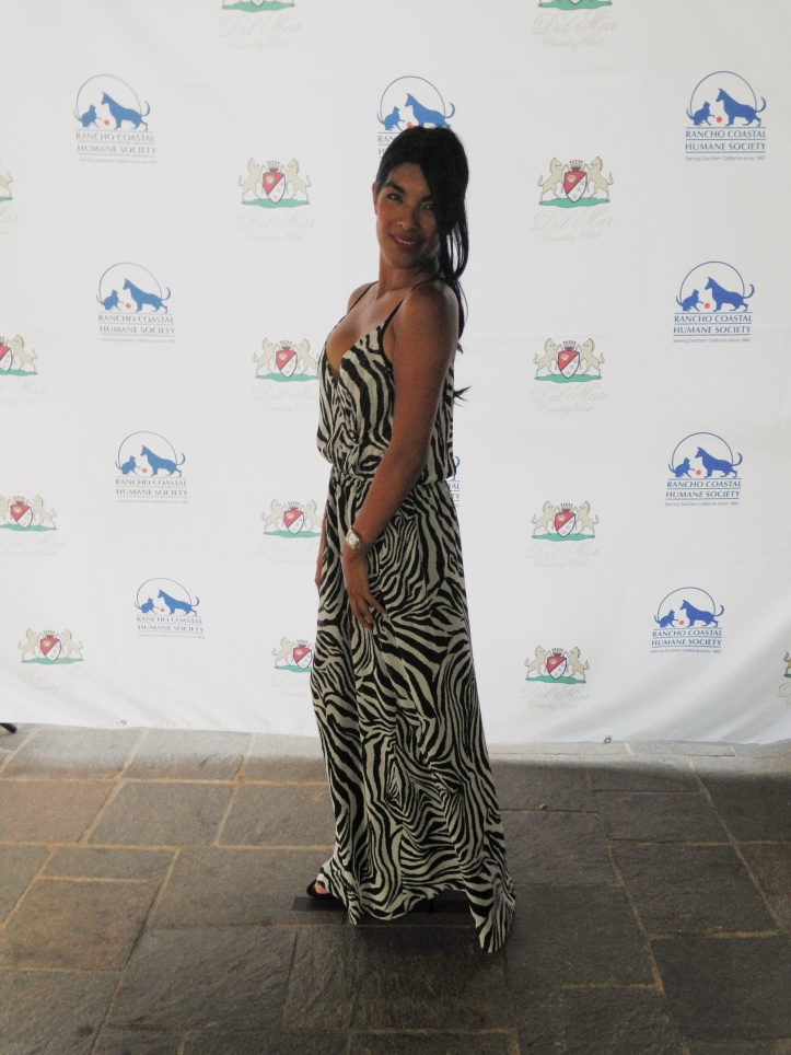Barking Beast Creator and Founder Tania Milberg at the Second Chances Healing of Power Gala 2013 to benefit Encinitas Rancho Coastal Humane Society