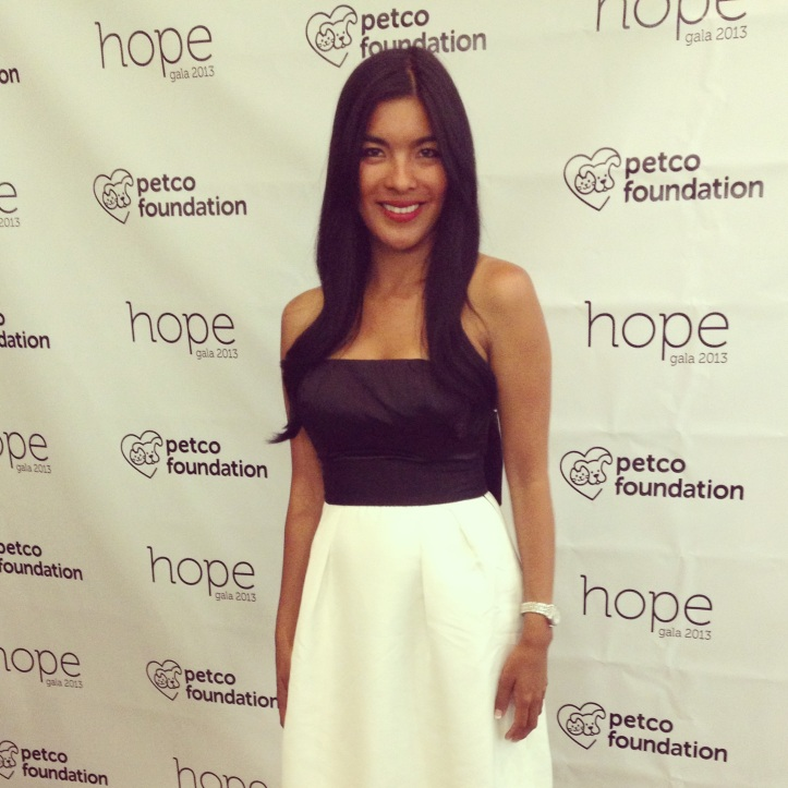 Barking Beast Founder Tania Milberg at the Petco Hope Gala 2013 in San Diego California