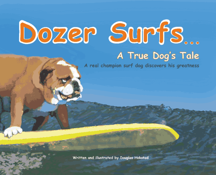 Dozer Surfs Book Cover
