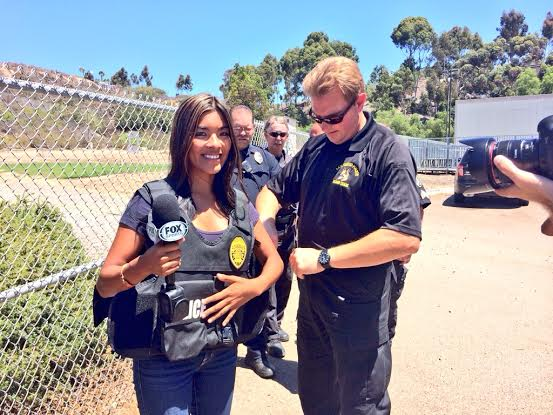 Milberg visits the San Diego Police Department Canine Unit