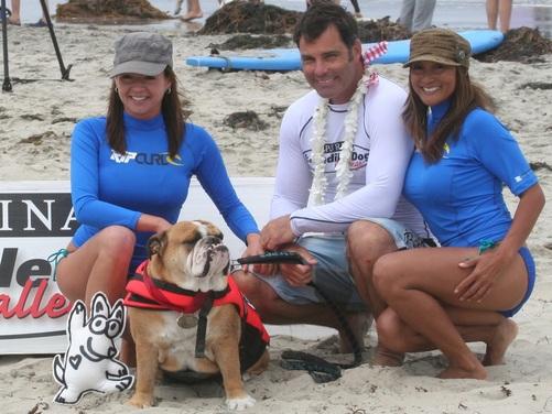 Dozer and his parents on the right Doug and Gigi Hokstad