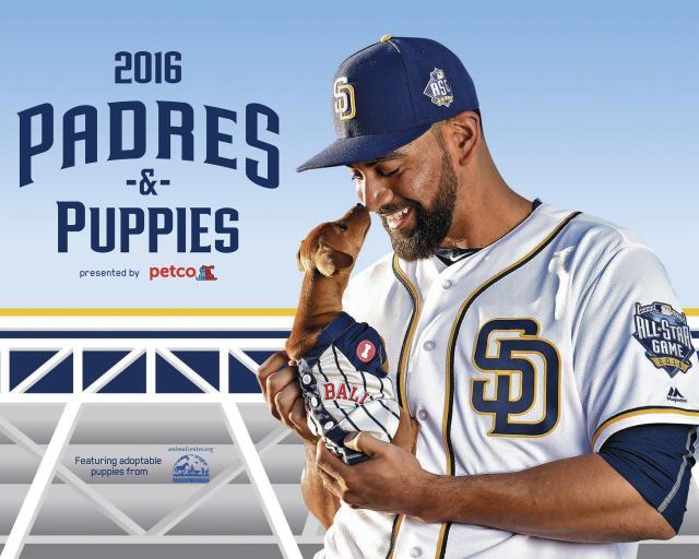 2016 Padres & Puppies Calendar